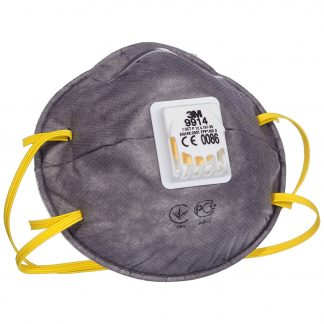 3M™ 9914 Cup-Shaped Valved Dust/Mist/Nuisance Odour Respirator (P2V)