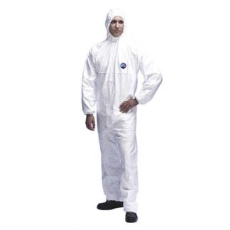 DuPont Tyvek Classic Xpert White Anti-Static Coverall Type 5 & 6