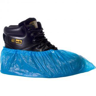 Blue Vinyl Disposable Protective Overshoe