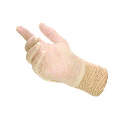 Mens Knit Wrist Stockinette Glove