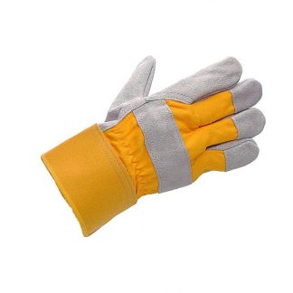 Mens Yellow Hurricane Super Canadian Rigger Gloves