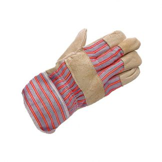 Mens Yellow Hide Rigger Gloves