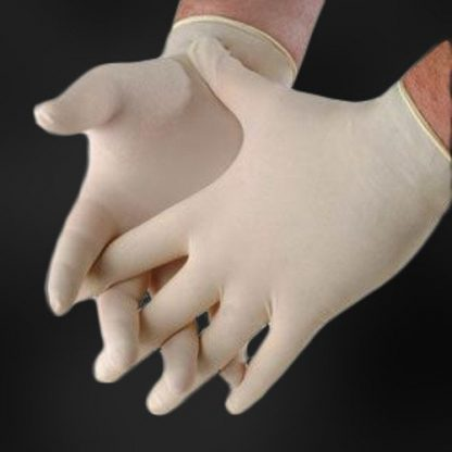 TrueTouch GD1001 Powder Free Natural Latex Disposable Gloves
