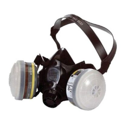 North Twin Filter Half Mask Respirator N7700-30LU (Large)