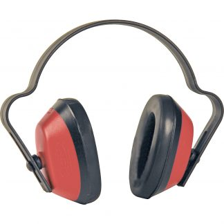 Red / Black Economuff Ear Defenders