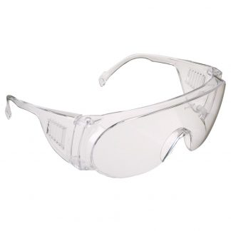 JSP M9300 Overspec Clear Lens Safety Spectacles