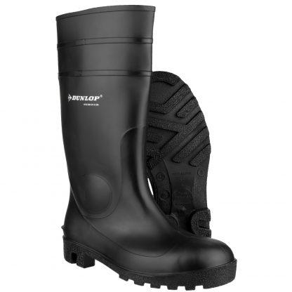 Dunlop Protomastor Full Safety Wellington Boots